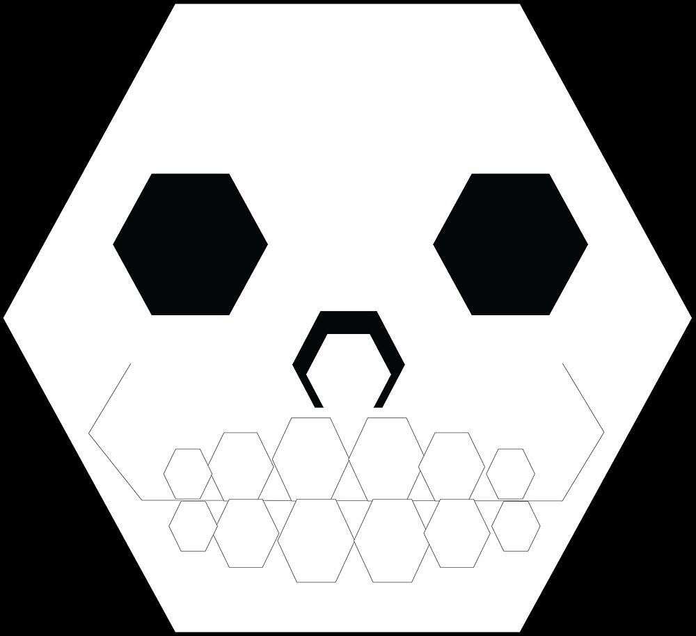 Hexagon Skull by Animator-Tana11