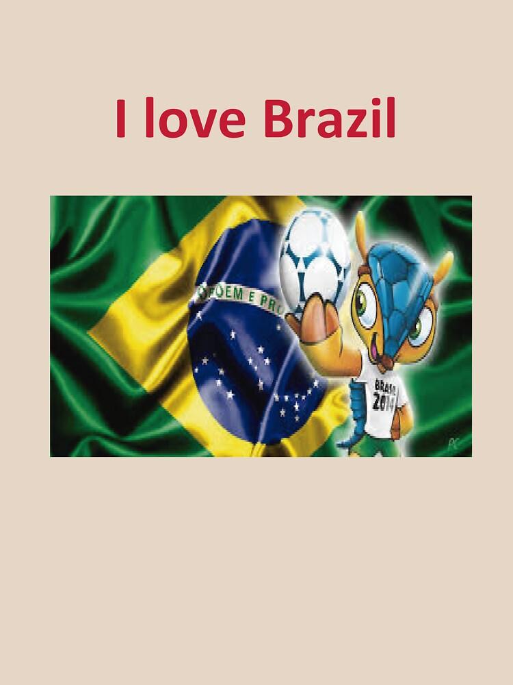 eu amo o brasil by gilsonsoliveira