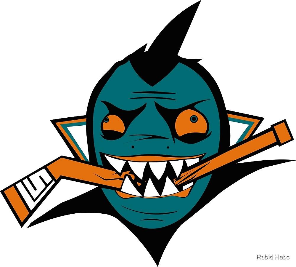 San Jose Rabid Team Logo by Rabid Habs
