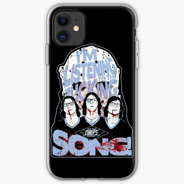 Slap Shot! Hanson Brothers Old Time Hockey  iPhone Soft Case