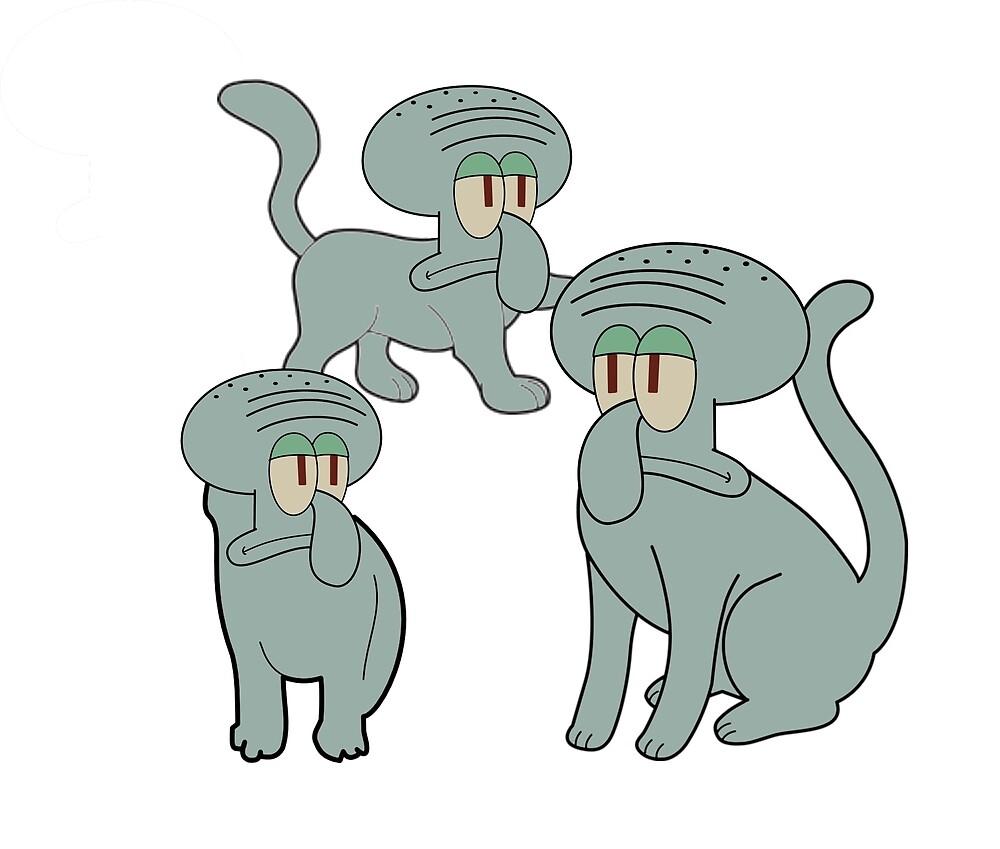Squidcats by Danklin