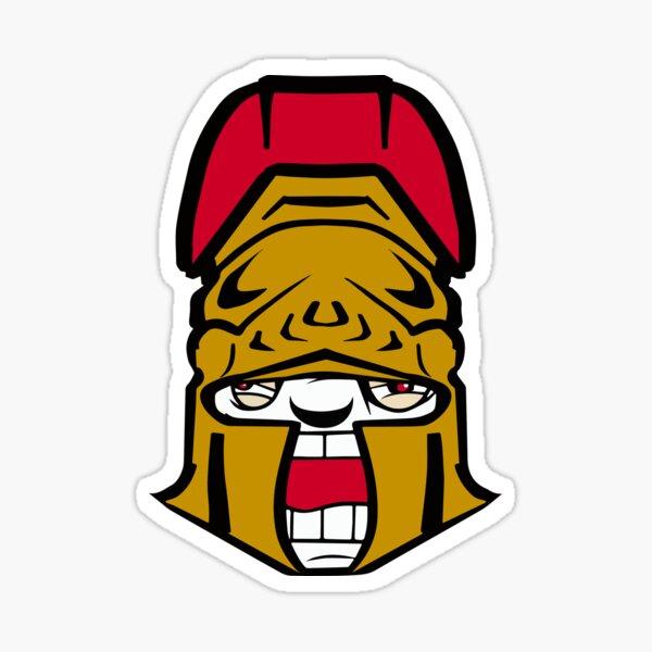 Ottawa Rabid Team Logo Sticker