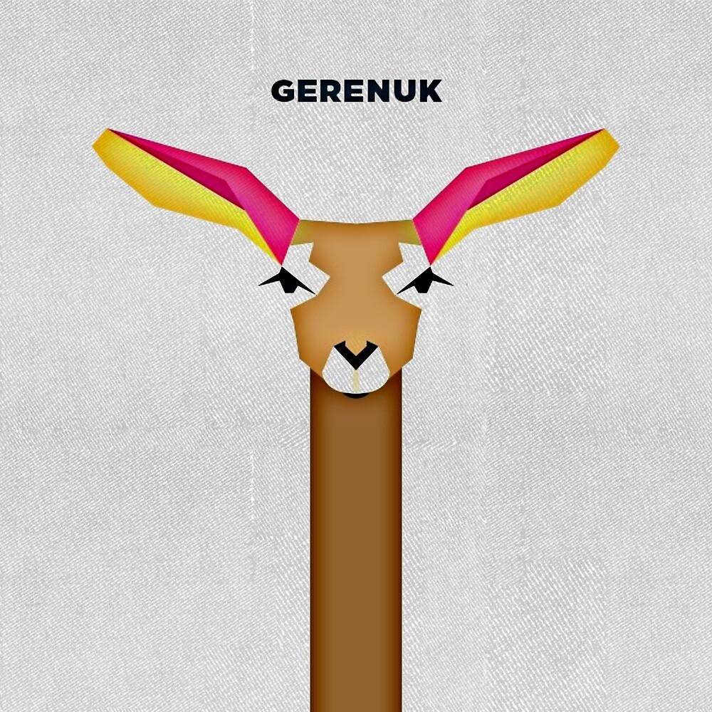 Gerenuk by bal221