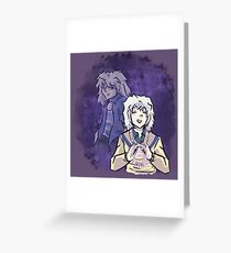 Bakura (Yu-gi-oh) Greeting Card