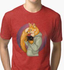 Photographer Fox Tri-blend T-Shirt