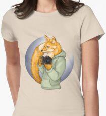 Photographer Fox Women's Fitted T-Shirt