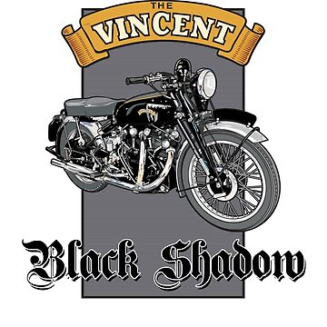 Vincent Black Shadow by limey57