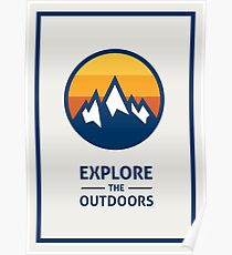 Explore the Outdoors (1st Edition) Poster