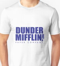 Dunder Mifflin The Office T-Shirt T-Shirt
