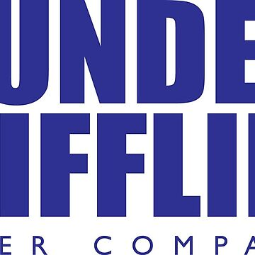 Dunder Mifflin The Office T-Shirt by CarlosDrinnon