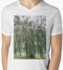 Willow. Men's V-Neck T-Shirt