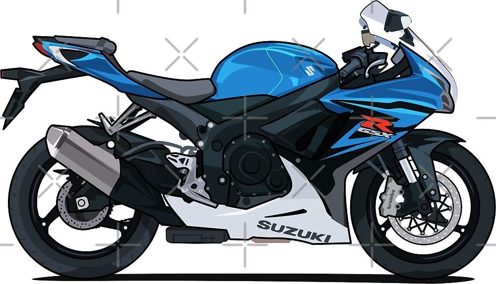 Suzuki GSX R600 Motorcycle by xEver
