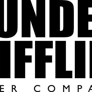 Dunder Mifflin T-Shirt by CarlosDrinnon