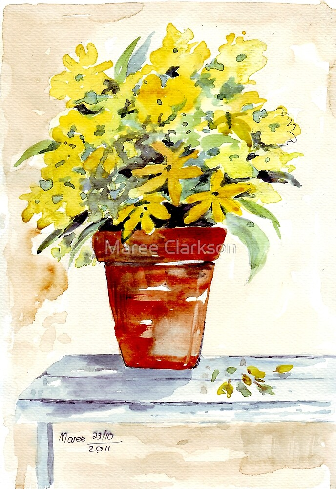 Gardening dreams by Maree Clarkson