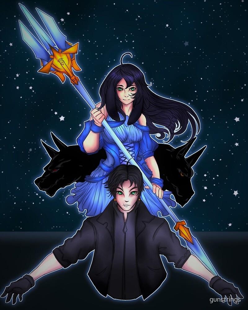 Noah and Artemis by gunstrings
