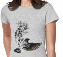 Shadows Womens Fitted T-Shirt