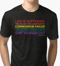 "Jordan Peterson - ""Life Is Suffering"" Tri-blend T-Shirt"