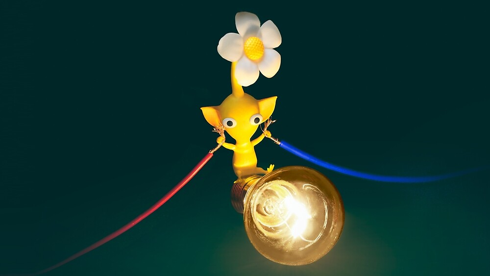 Yellow Pikmin by Warlord1234