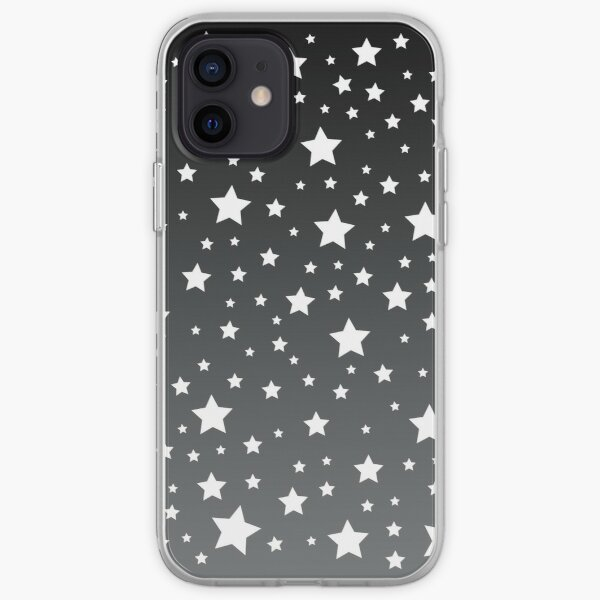 White Stars iPhone Soft Case