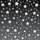 Weiße Sterne von Corey Paige Designs