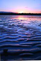Sun Set Ripples by tracyleephoto