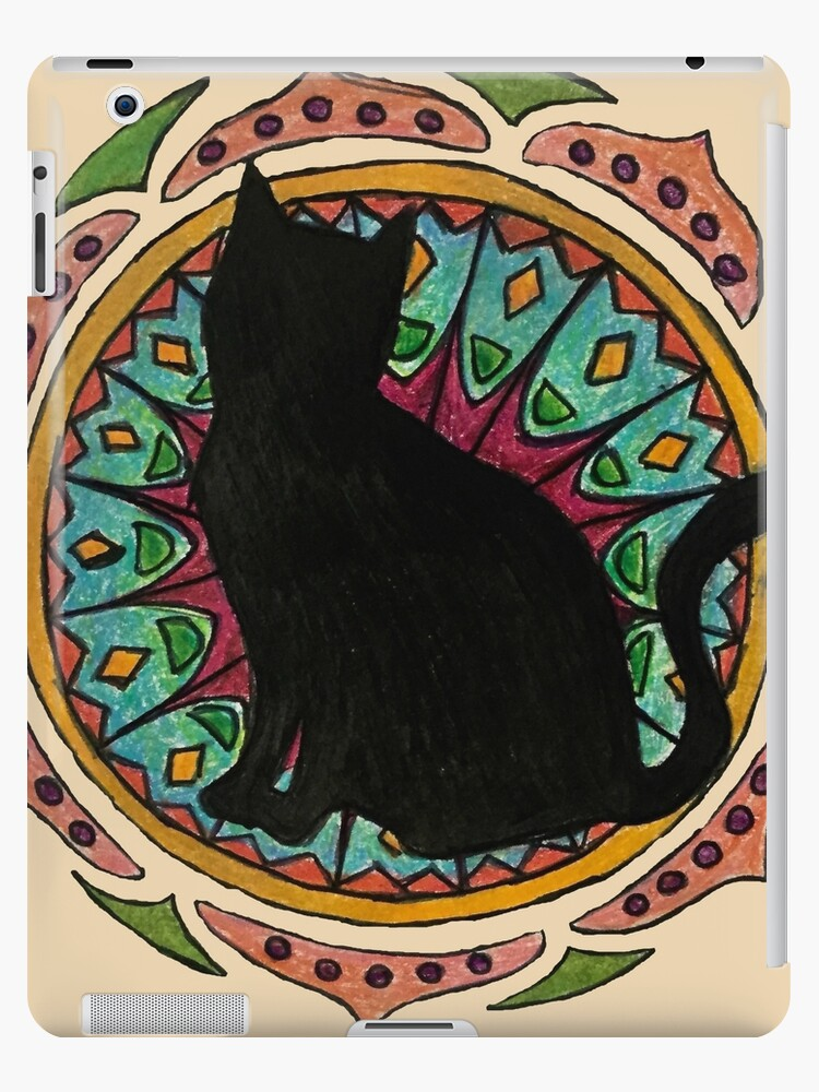 «Black Cat Mandala» de charliecross