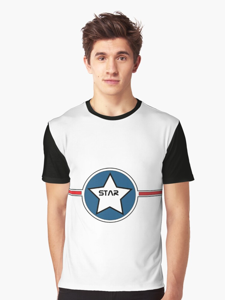 Star Graphic T-Shirt Front