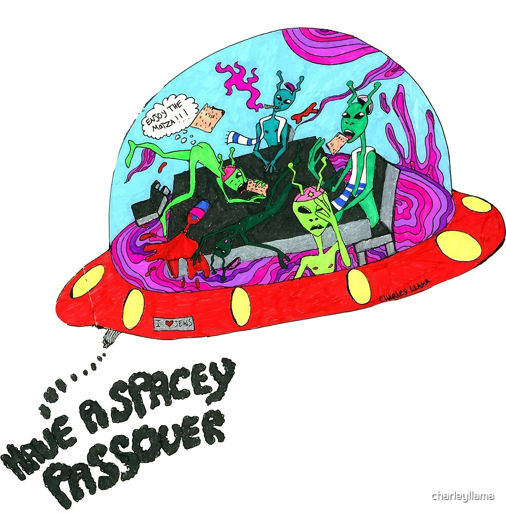 Have A Spacey Passover by charleyllama