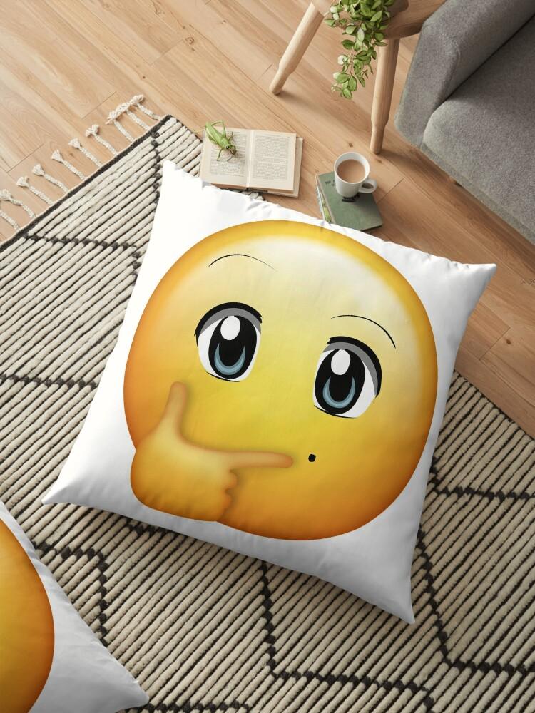 Kawaii Thinking Emoji by Kito26