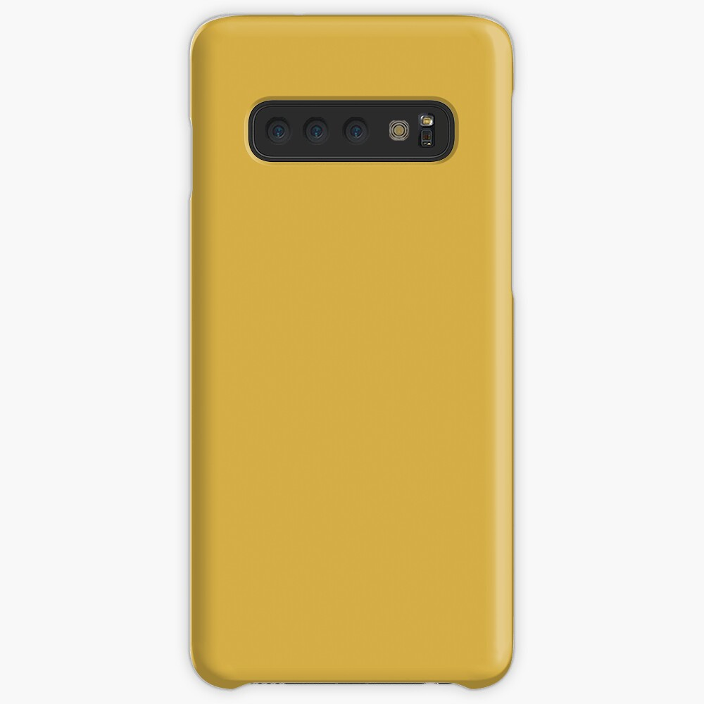 Spicy Mustard 14-0952 TCX   Pantone   Color Trends   Fall Winter 2016   Solid Colors   Fashion Colors   Samsung Galaxy Snap Case