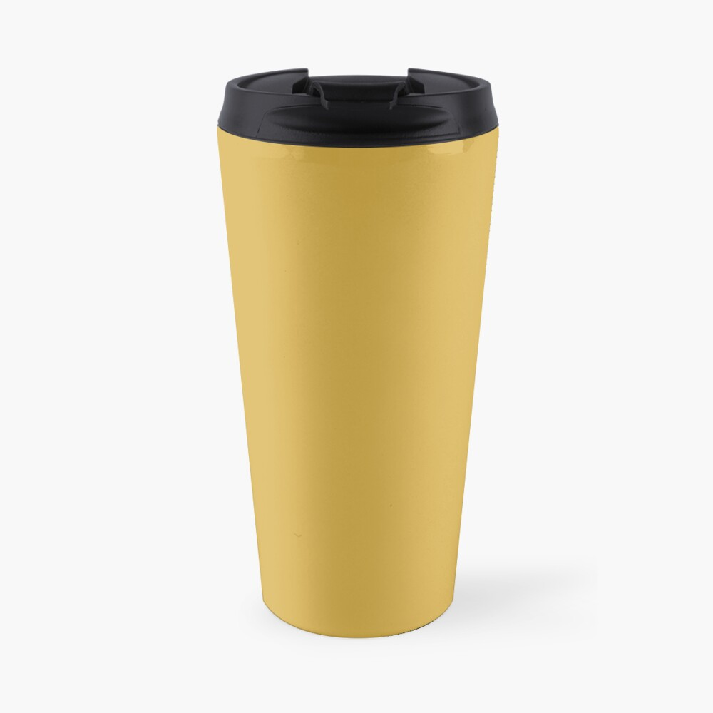 Spicy Mustard 14-0952 TCX | Pantone | Color Trends | Fall Winter 2016 | Solid Colors | Fashion Colors | Travel Mug