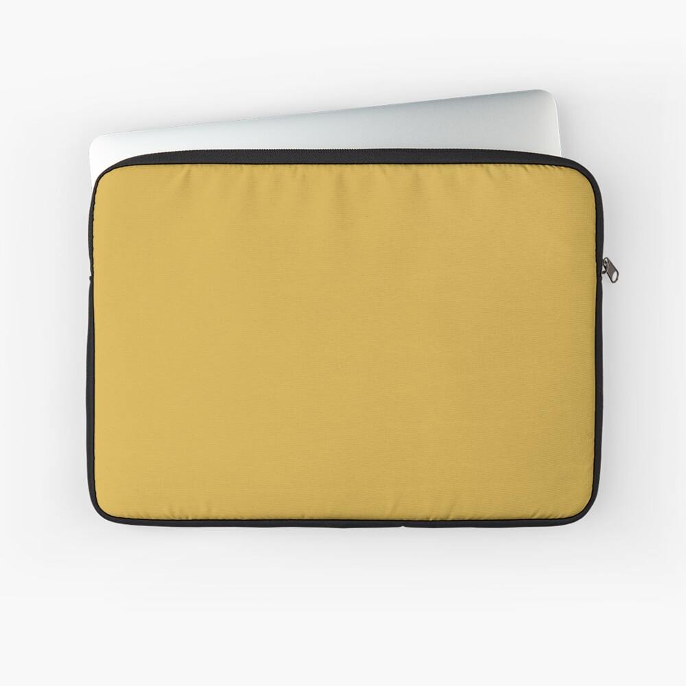 Spicy Mustard 14-0952 TCX | Pantone | Color Trends | Fall Winter 2016 | Solid Colors | Fashion Colors | Laptop Sleeve