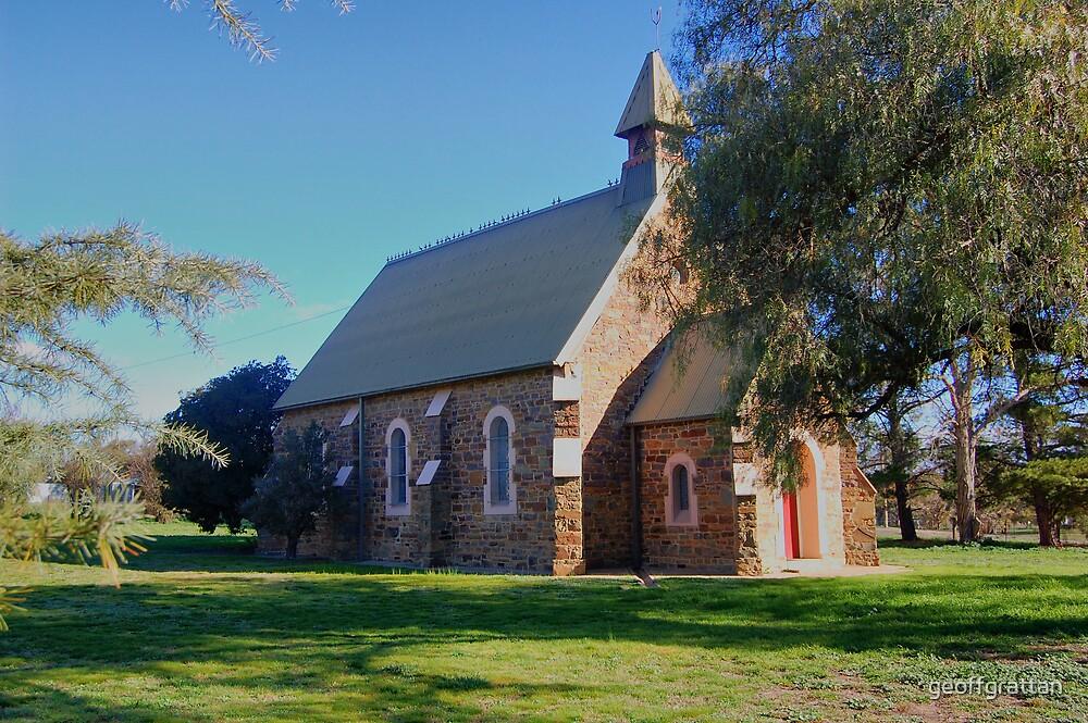 church at murringo near young nsw by geoffgrattan
