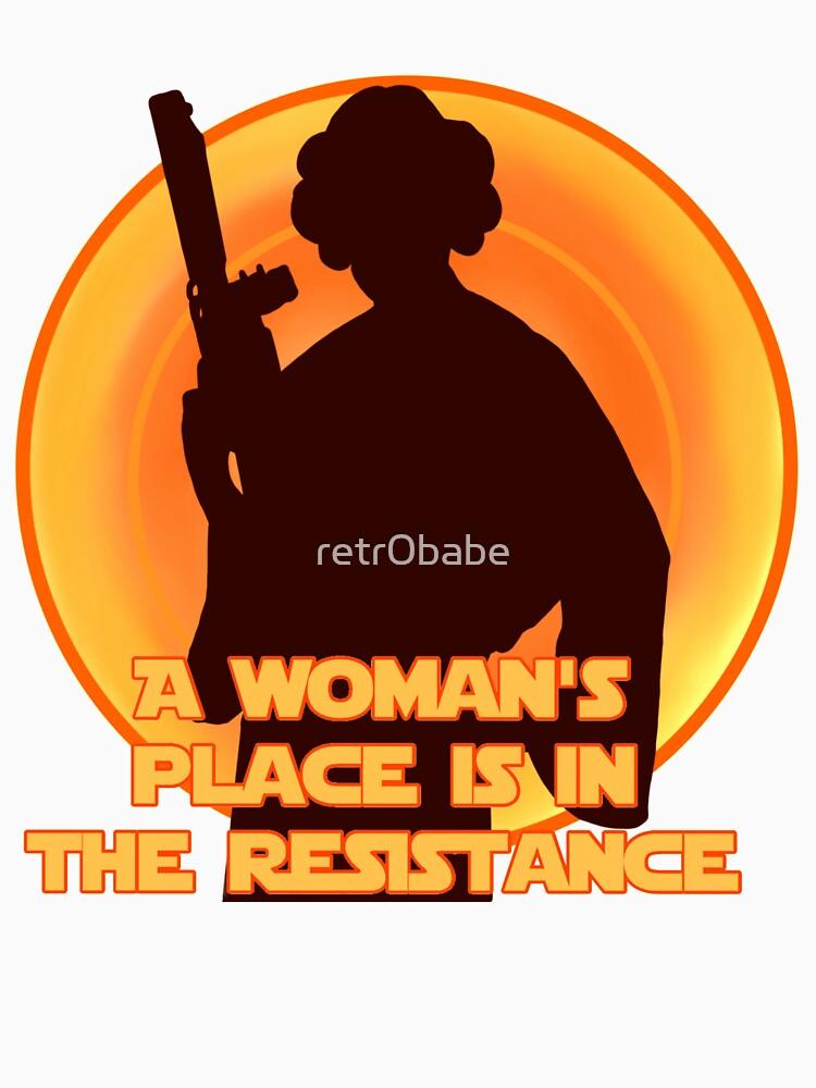Der Widerstand von retr0babe