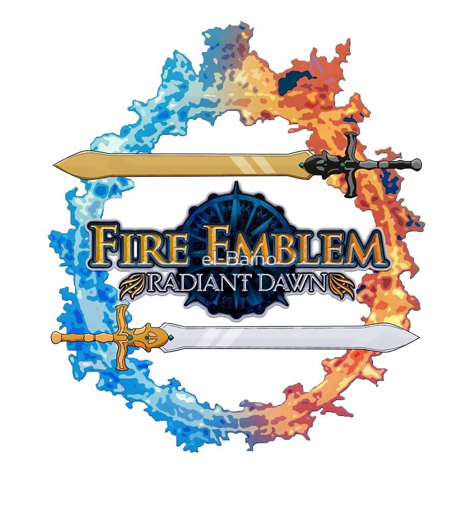 Fire Emblem - Radiant Dawn inspired logo by el-Baino