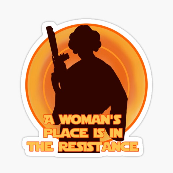 The Resistance Sticker