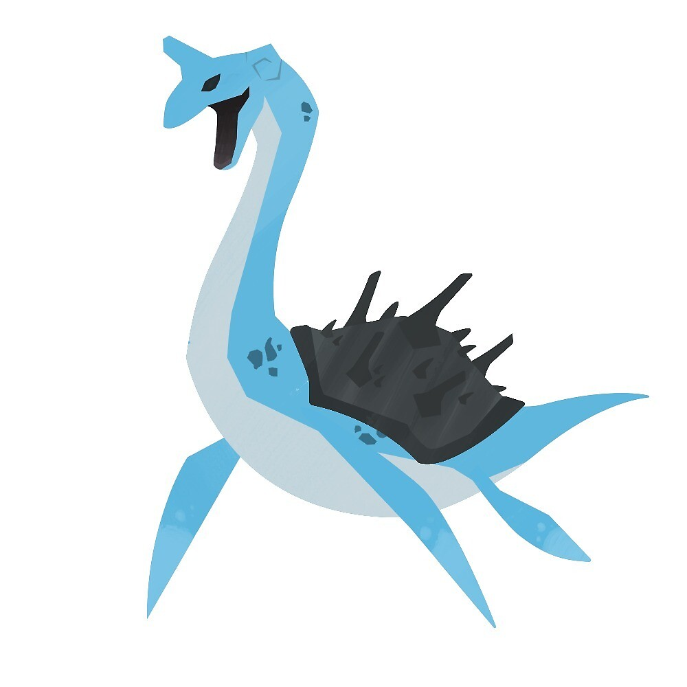 Lapras by Jswavely