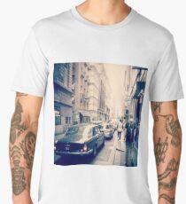 Vintage times in Melbourne Men's Premium T-Shirt