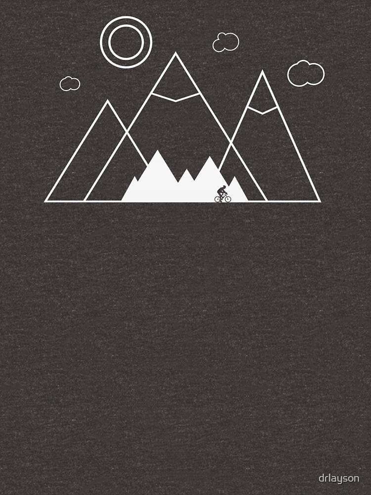 Nature Scenery Landscape Minimalist Cool Gift Shirt by drlayson