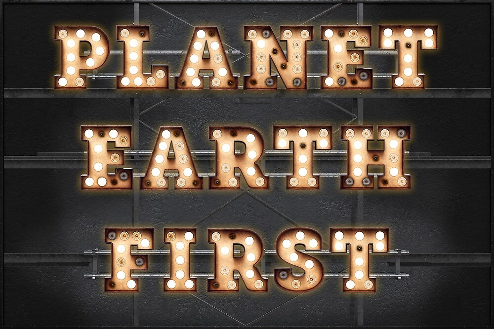 Planet Earth First by Art-Frankenberg