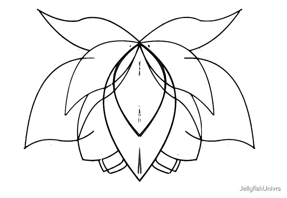Blooming Lotus Lines 2 by JellyfishUnivrs