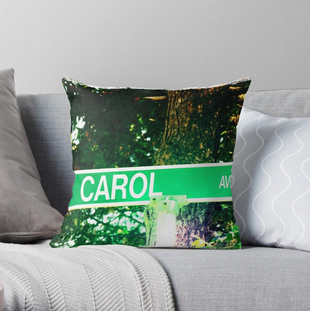 Carol  Throw Pillow