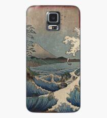 Fuji und das Meer von Satta Hülle & Klebefolie für Samsung Galaxy