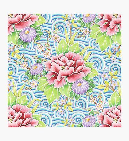Kimono Bouquet Photographic Print