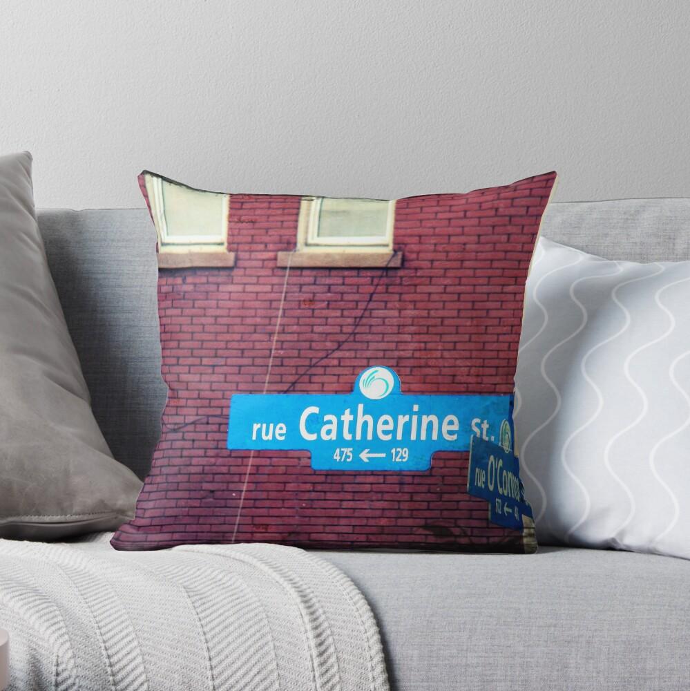 Catherine  Throw Pillow
