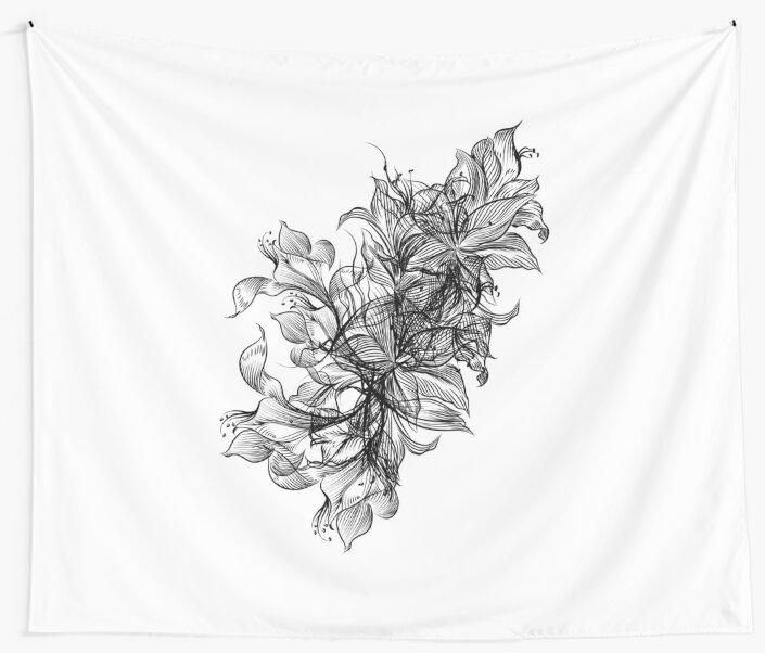 Flower Black by PineLemon