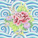 Kimono Bouquet by PatriciaSheaArt