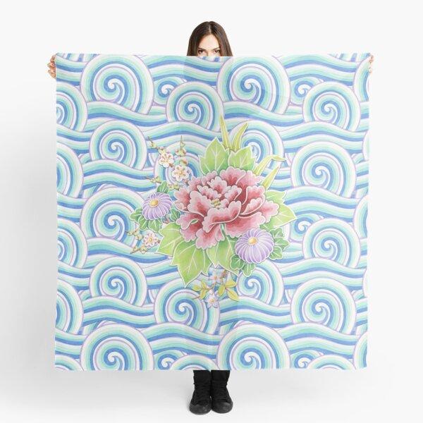 Kimono Bouquet Scarf