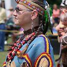 Native American Woman  by Lolabud