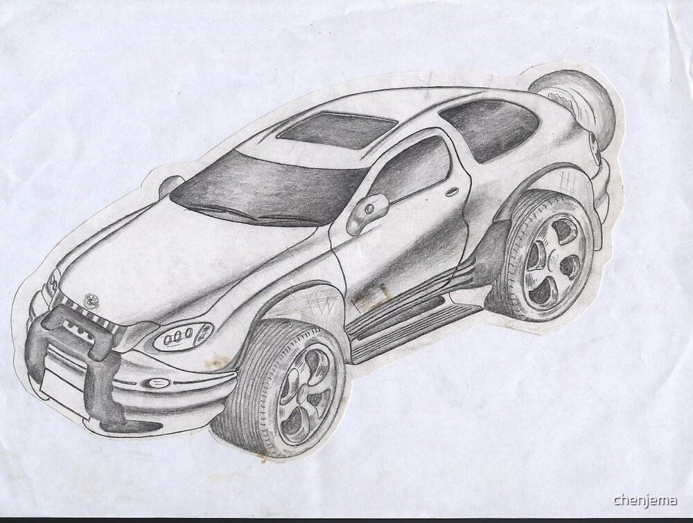 CAR SKECTH by chenjema